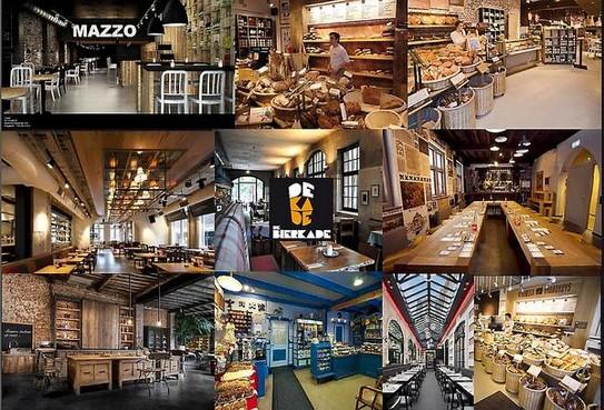 <p>Rick Post maakte dit moodboard met ideeën voor de inrichting van de nieuwe stadsbrouwerij met proeflokaal.</p>
