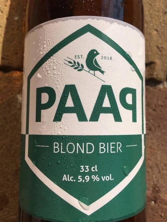 <p>Blond bier van PAAP Bier Broeders.</p>