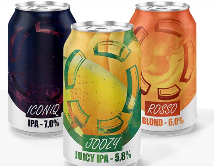 <p>De 3 bieren van LOST: ICONIQ, JOOZY, ROSSO</p>