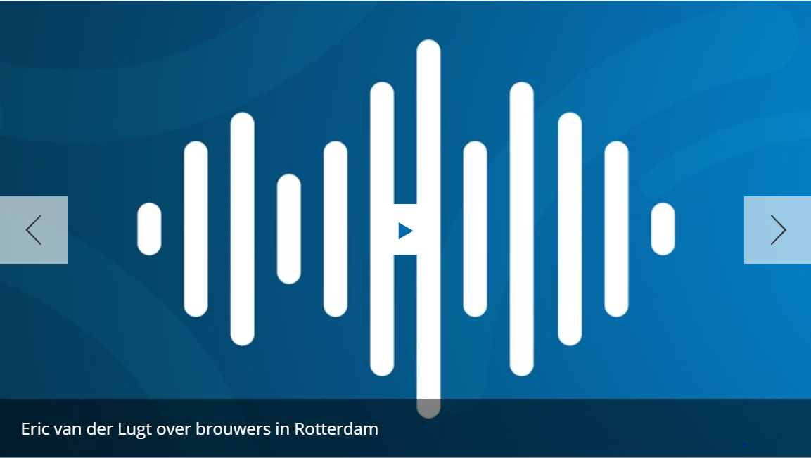 <p>Eric van der Lugt over brouwers in Rotterdam</p>
