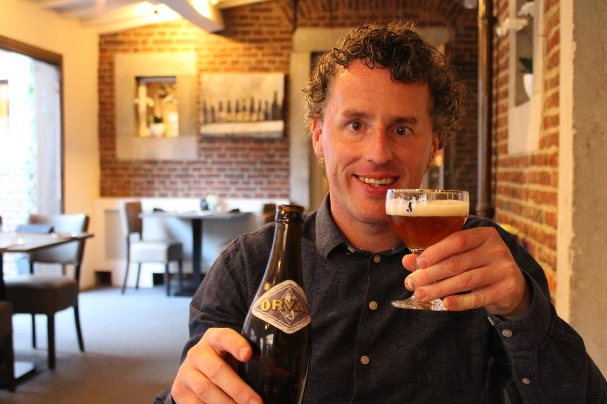 """<p>""""Trappist Orval (een van mijn favoriete bieren).""""</p>"""