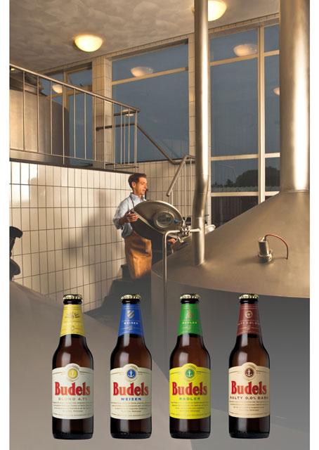 <p>Vier biologische bieren van Budels geïntroduceerd in het voorjaar van 2014</p>