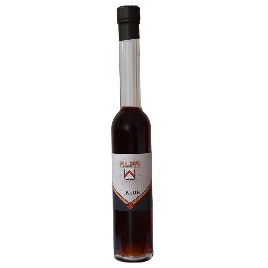 <p>zachte likeur op basis van Alfa Edel Pils, 20 cl fles</p>