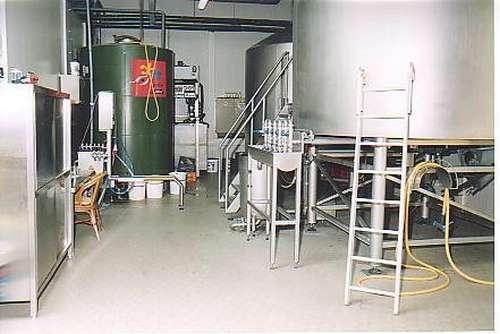 <p>Brouwzaal van de brouwerij in Roermond</p>