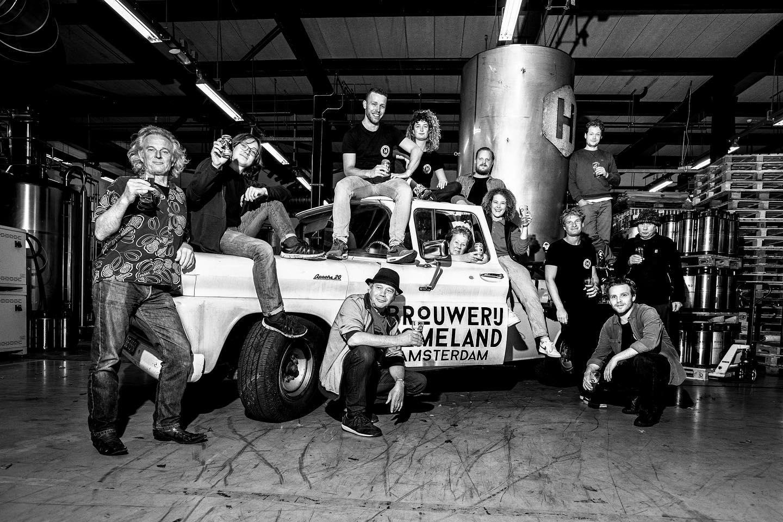 <p>Team van Brouwerij Homeland</p>