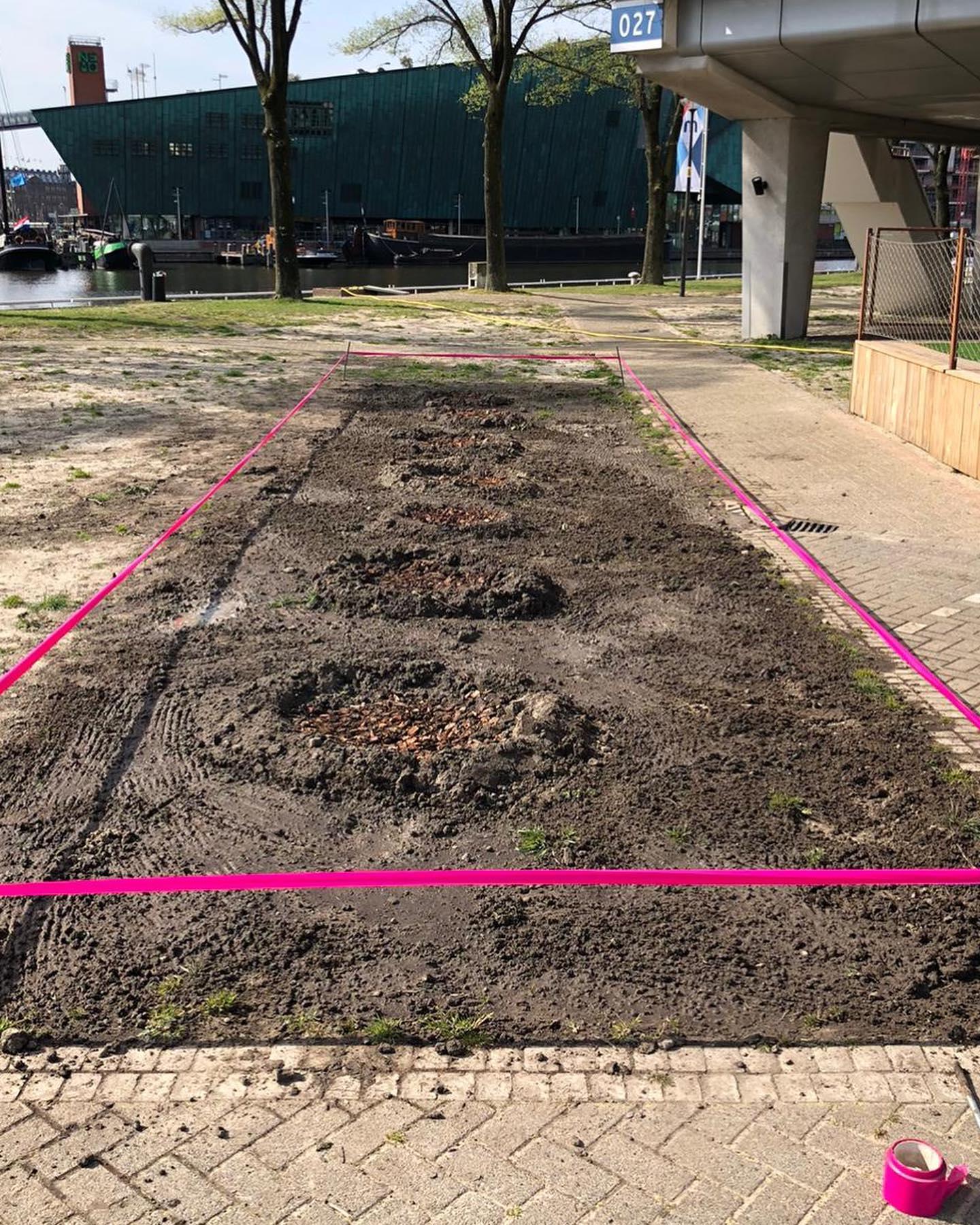<p>April 2020: aanleg hopveld</p>