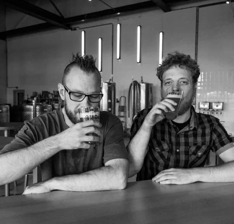 <p>Mark Strooker (l) en Bart-Jan Hoeijmakers</p>