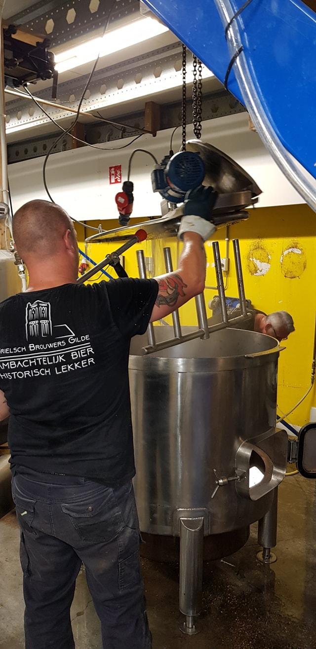 <p>Brouwdag bij Steffelaar Bier op 21 augustus 2019</p>