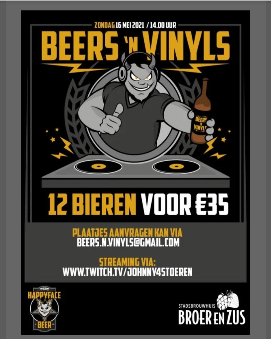 <p>Beers 'n Vinyls Online Festival</p>