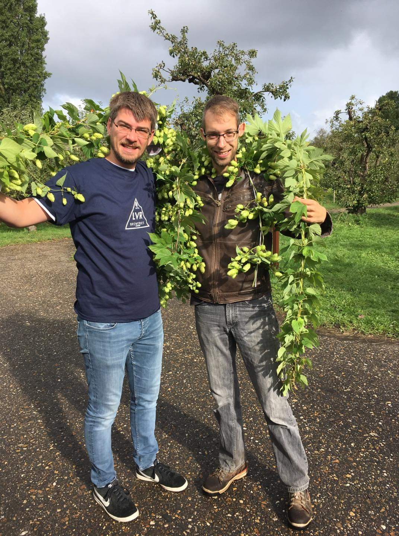 <p>2019: Loek Eerhart (l) en Matthijs Kolpa (r)</p>