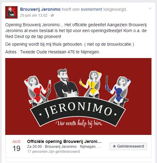 <p>Facebook Evenement</p>
