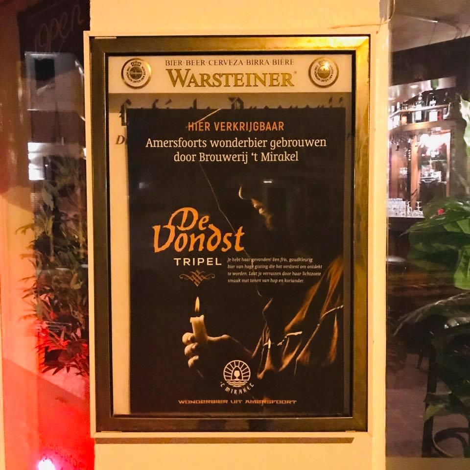 <p>eerste poster bij Café De Proeverij in Amersfoort</p>