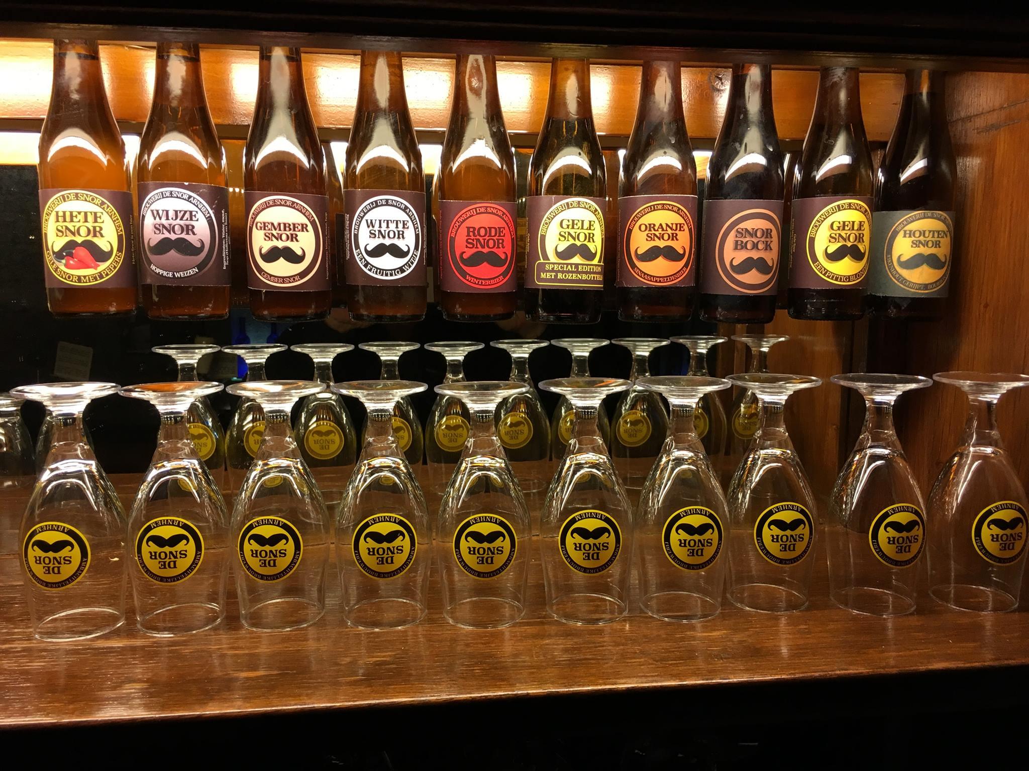 <p>bieren + glazen (januari 2018)</p>