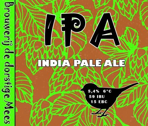 <p>IPA (etiket uit hobbyperiode)</p>