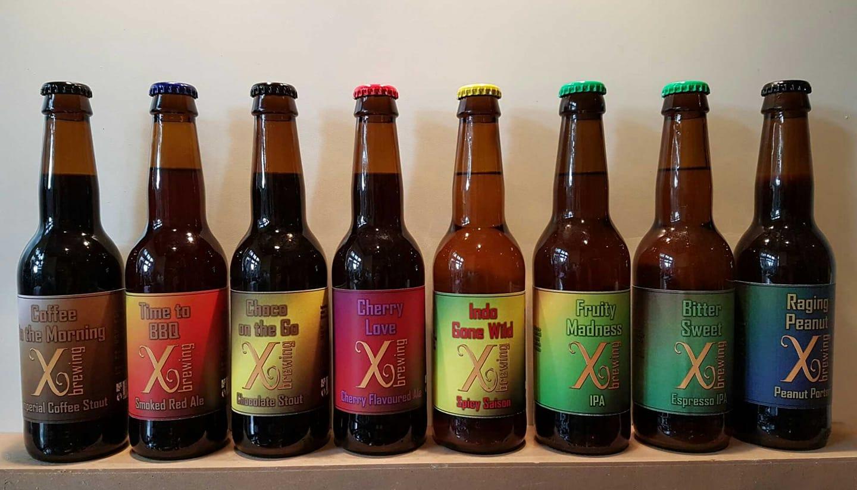 <p>Bieren uit de amateurperiode</p>