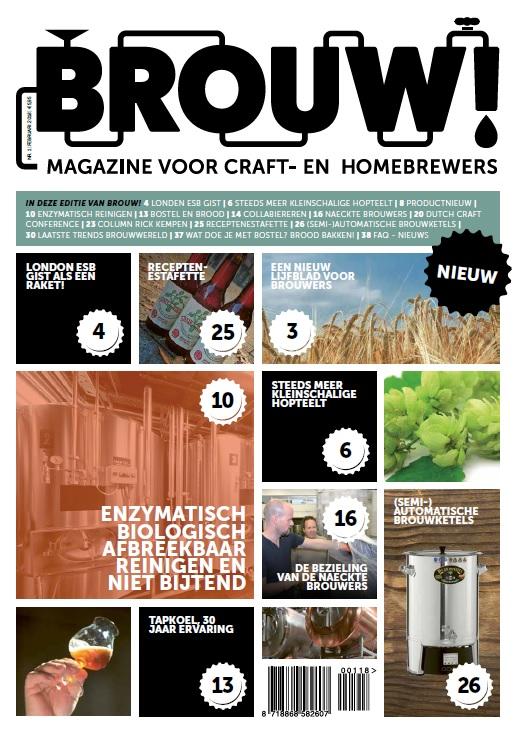 <p>Cover Brouw! 1</p>