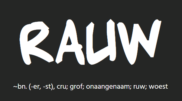 <p>rauw (website)</p>