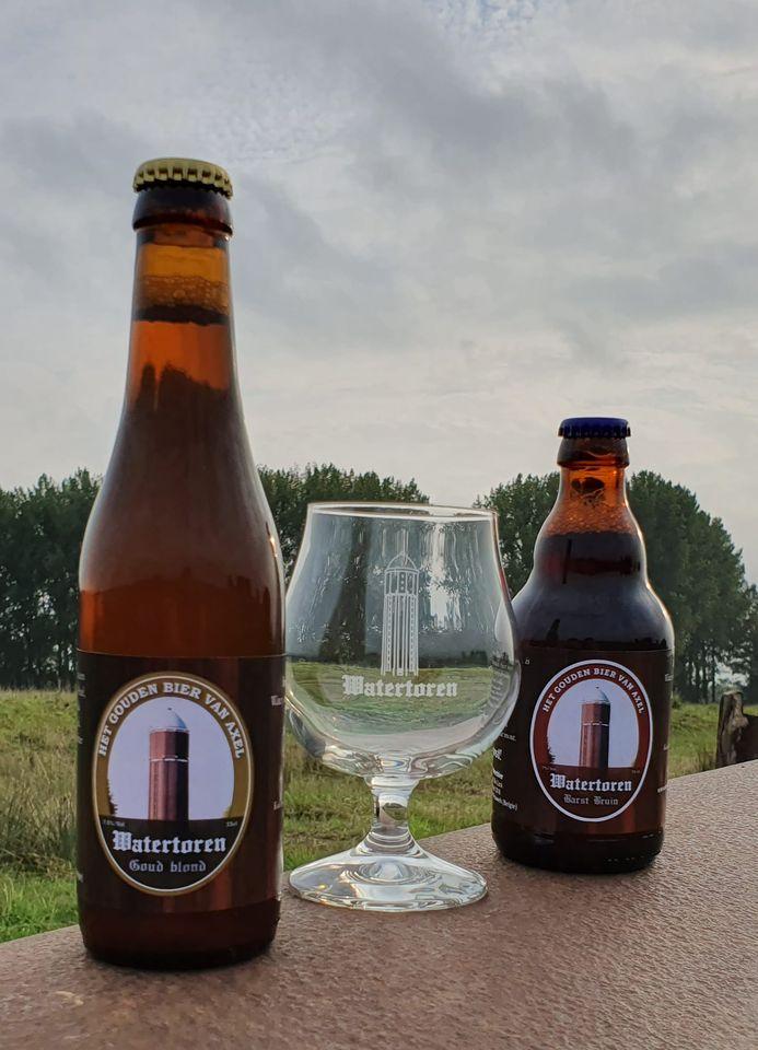 <p>bieren + glas</p>
