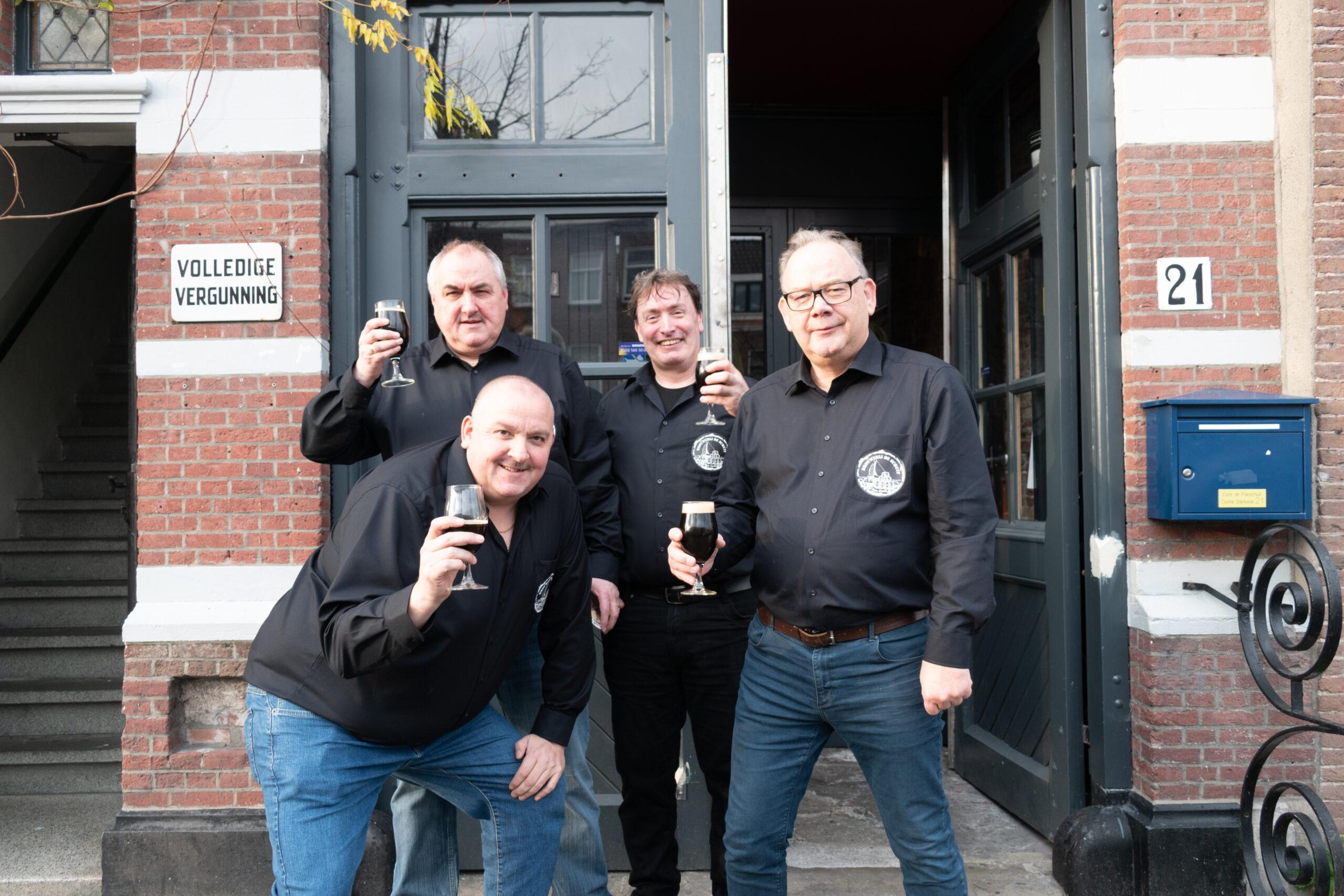 <p>Wim, Sylvester, Kevin en Sjaak (v.l.n.r.)</p>