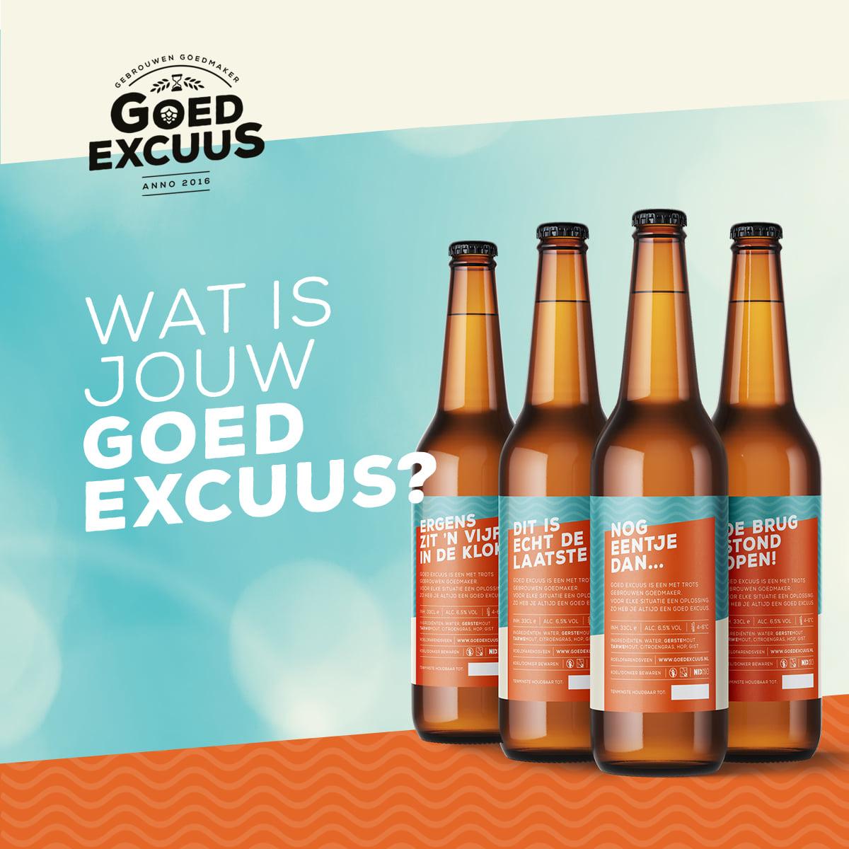 <p>wat is jouw goed excuus?</p>