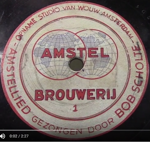 4 Amstellied Bob Scholte 1938 label