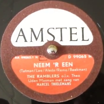 6 Neem r een The Ramblers 1952 label
